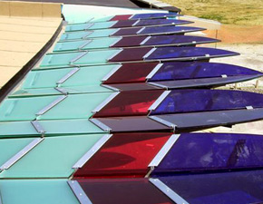 Colored Glass Laminates